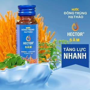 Nước đông trùng hạ thảo Hector Sâm Hộp 10 lọ